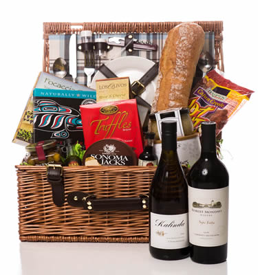 Wine Country Duet Picnic Basket