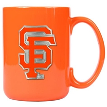 San Francisco Giants Orange Ceramic Mug