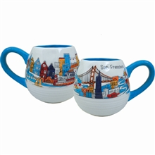 SF Whimsy Ceramic Mug