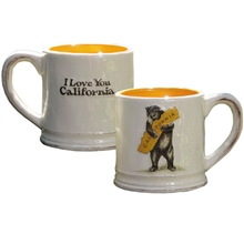 """I Love You California"" Bear Hug Mug"