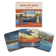 Golden Gate Bridge Coaster Set