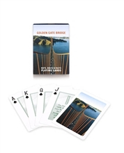 Golden Gate Bridge Facts Playing Cards