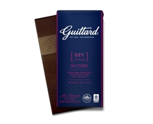 Guittard 91% CACAO NOCTURNE BITTERSWEET CHOCOLATE