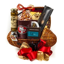49ers Touchdown Football Gift Basket