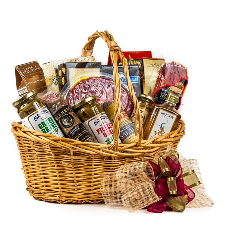 Baby Gift Baskets San Francisco : Meat lover s gift basket