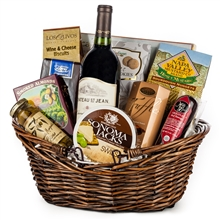 Wine Treasure Basket