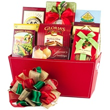 Seasons Greetings Christmas Gift Basket