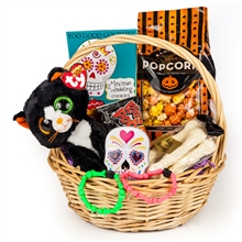 Halloween gift basket trick or treat holiday gift baskets sf spooky halloween gift basket negle Gallery