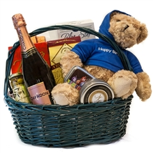 Birthday Champagne Wishes Basket