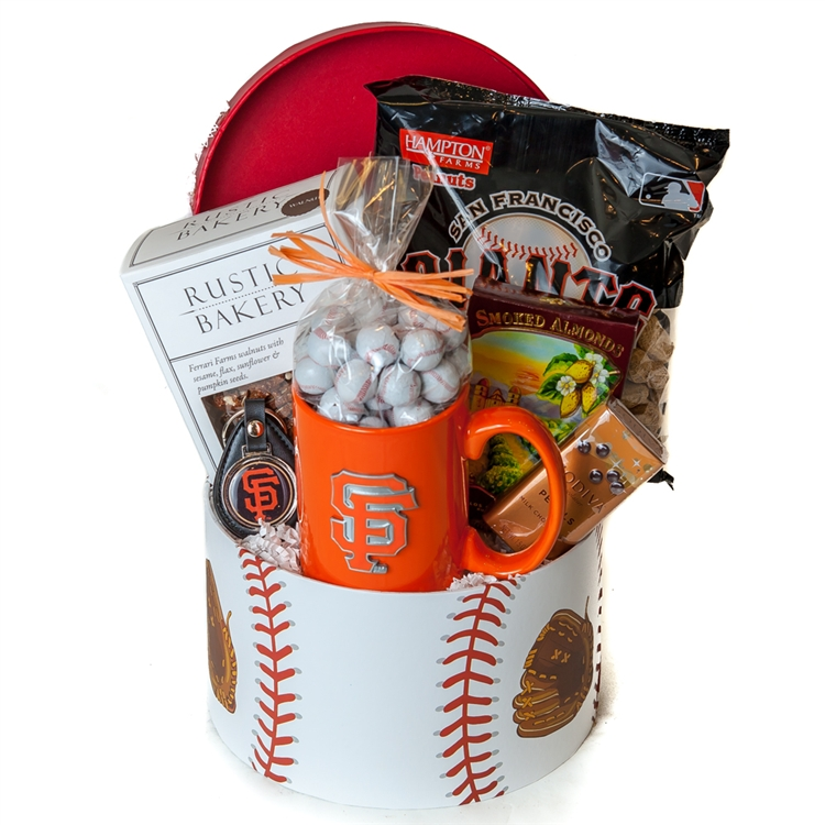 Baby Gift Baskets San Francisco : Gourmet giants gift basket