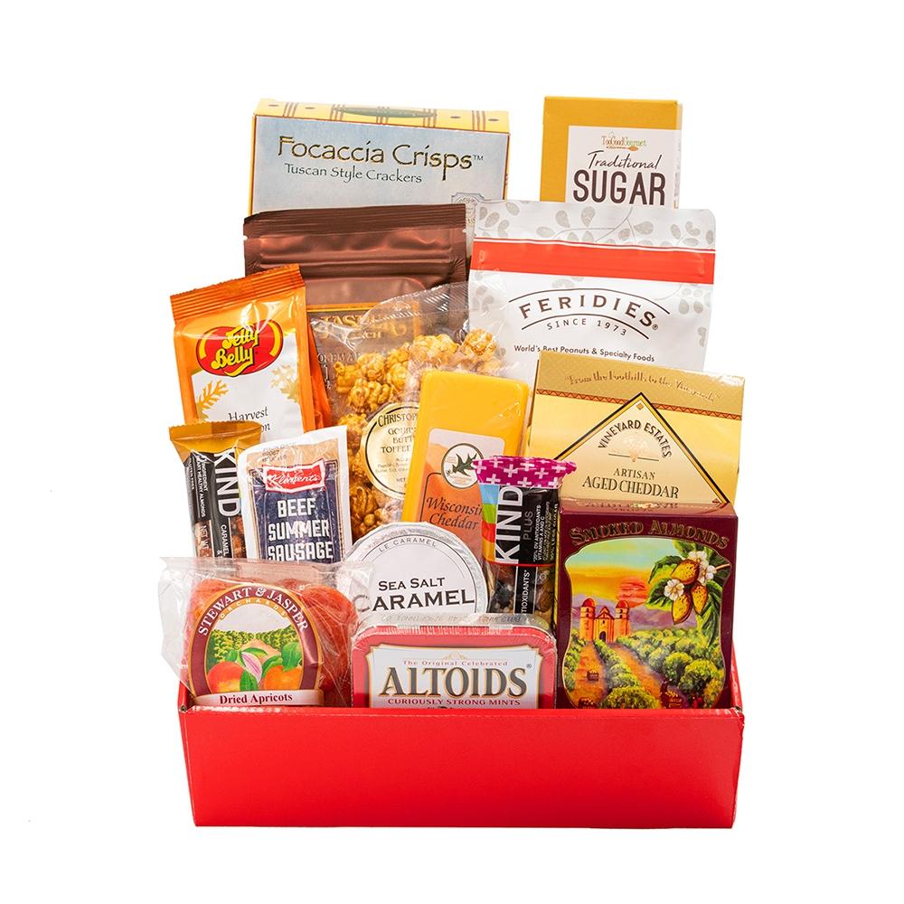 Bridal Shower Gift Basket Climbing On House Halloween: Golden Breakfast Gift Basket