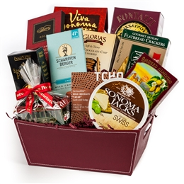San Francisco Treats Gift Basket - San Francisco Gifts by San Francisco Gift Baskets