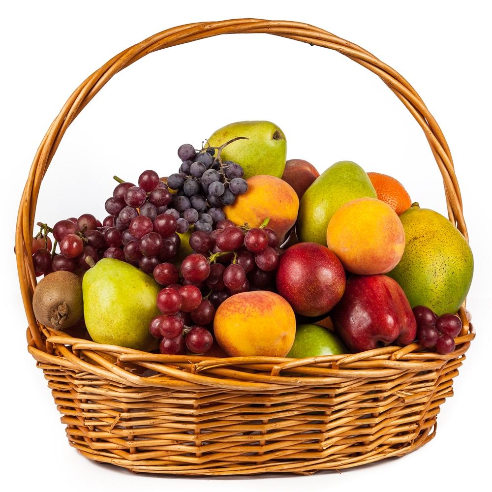 Fresh Fruit Basket Gifts The Image Kid