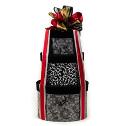 Decadent Holiday Stacked Gift Boxes