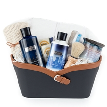 Deluxe Bath & Body Works for Men Gift Basket