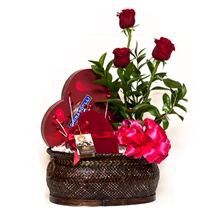 I Love You Valentines Day Gift Basket