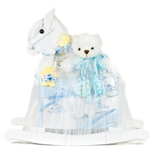 Rocking Horse Baby Boy Gift Set