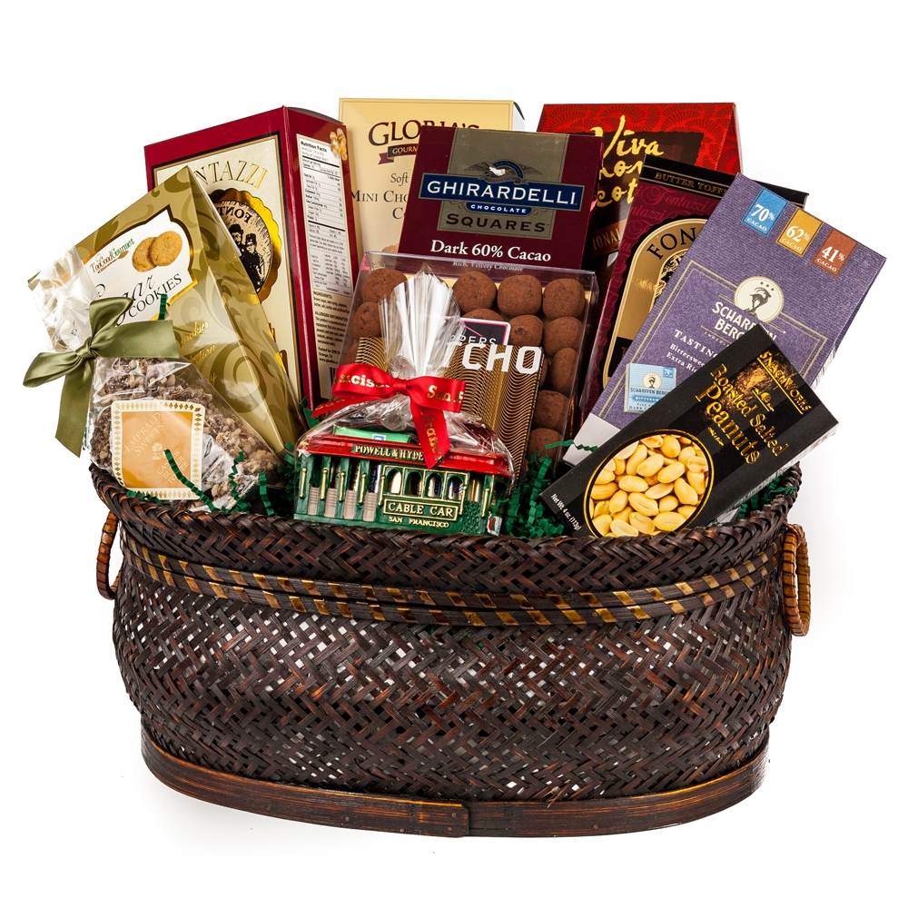 Gourmet san francisco gift basket gifts by