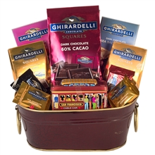 Ghiradelli Treat- San Francisco Gifts By San Francisco Gift Baskets
