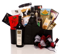 Magazine Holder Wine Gift Basket