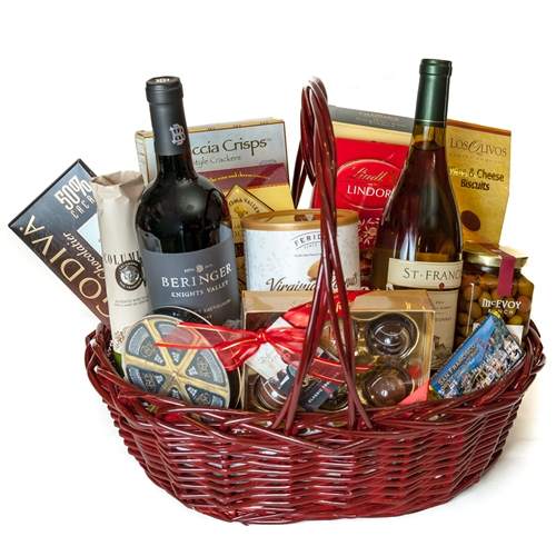 Highlights for Wine Country Gift Baskets. Finding a gift to say thank you or to celebrate a special occasion isn't always easy, but gift baskets make the hunt much easier. No online retailer's selection of such gifts can quite compare to Wine Country Gift Baskets. .