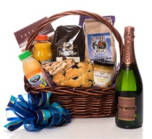 Mimosa Breakfast Gift Basket