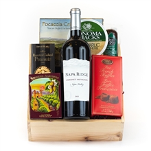 Napa Valley Wine Gourmet Gift Basket