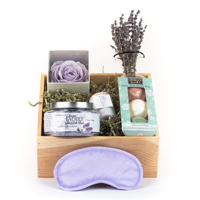 Sfgiftbasket Spa Gift Basket Romantic Spa