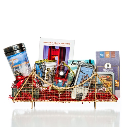 Golden Gate Bridge Gift Basket