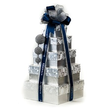 Deluxe Warmest Wishes Gift Boxes (Silver/Black)