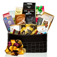Sophisticated Chocolate Gift Basket