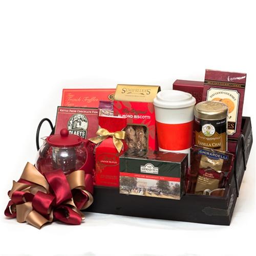 Morning Office Gift Basket  sc 1 st  SF Gift Basket & Premium Tea Gift Basket
