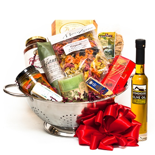 Italian Evening For Two Gift Basket
