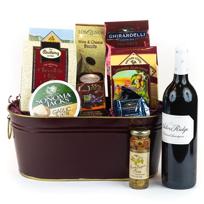 Executive Wine Gift Basket