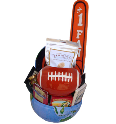 Number One Fan Gift Basket