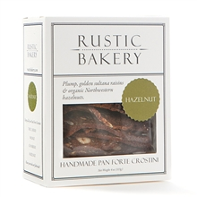 Rustic Bakery Cranberry Pan Forte Crostini