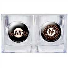 San Francisco Giants 2pc Shot Glass Set