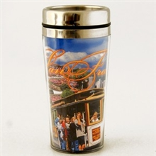 San Francisco Photo Collage Thermal Tumbler