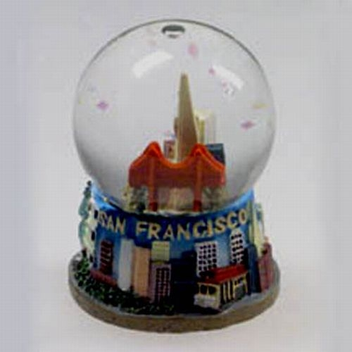 San Francisco Polyresin Waterglobe