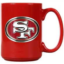 San Francisco 49ers Red Mug