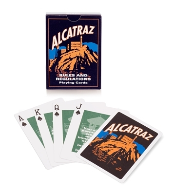 Alcatraz Rules and Regulations Playing Cards