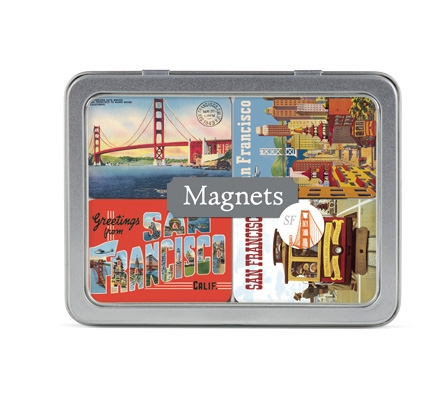 Vintage San Francisco Magnets