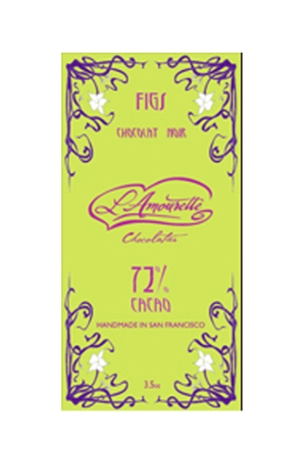 L'Amourette 72% Dark Chocolate with English Toffee