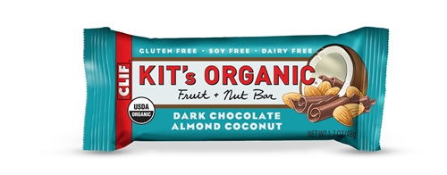 Kit's Organic Fruit & Nut Bar: Dark Chocolate Almond Coconut