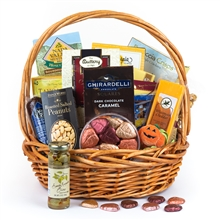 Autumn Harvest Gift Basket- Thanksgiving Basket By San Francisco Gift Baskets