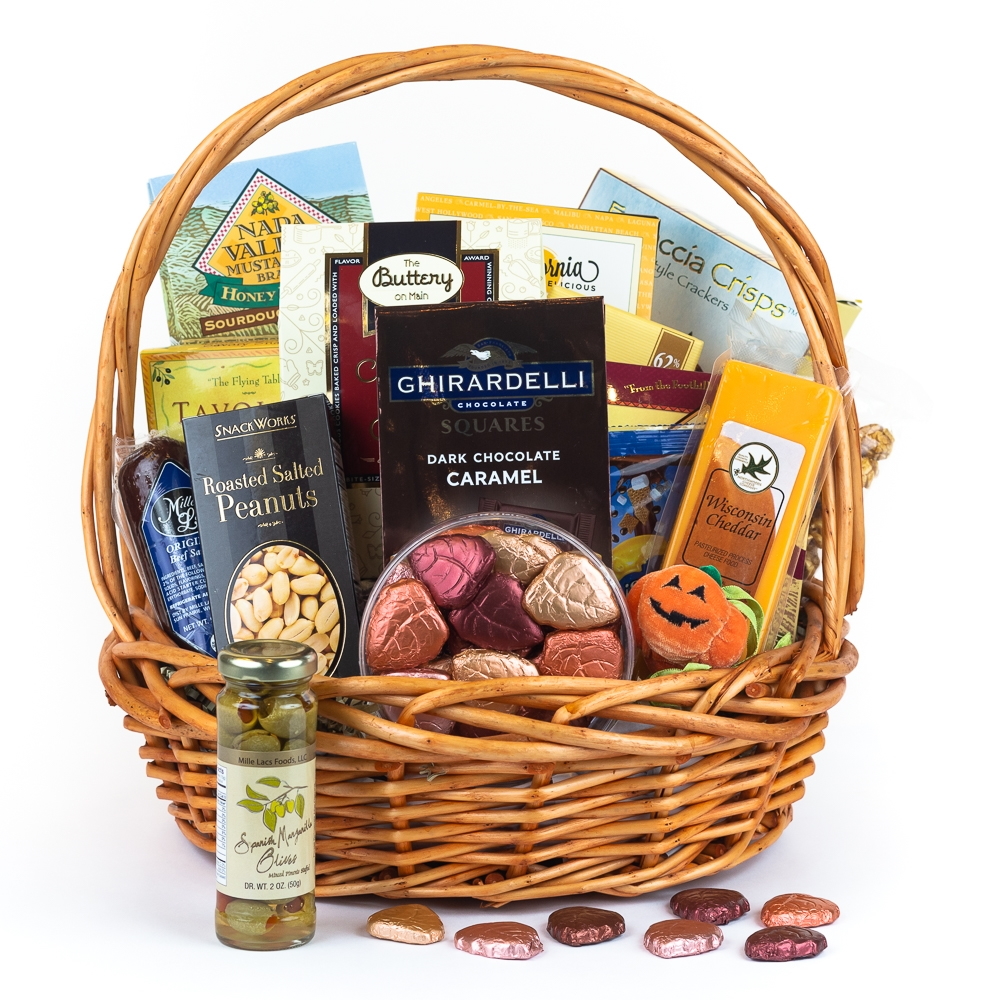 Autumn Harvest Gift Basket- Thanksgiving Basket By San Francisco Gift Baskets  sc 1 st  SF Gift Basket & Autumn Harvest Gift Basket- Thanksgiving Basket By San Francisco ...