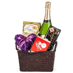 Here Comes the Bride Wedding Gift Basket
