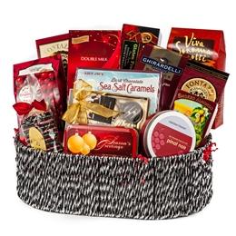150 gift basket chocolate gift basket belgian chocolate gift holiday celebration gift basket negle Choice Image