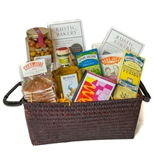 Bay Area Organic Snacks Basket