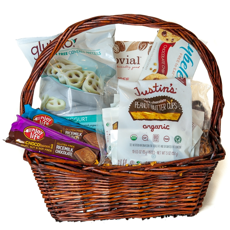 Gourmet gluten free snack basket negle Choice Image